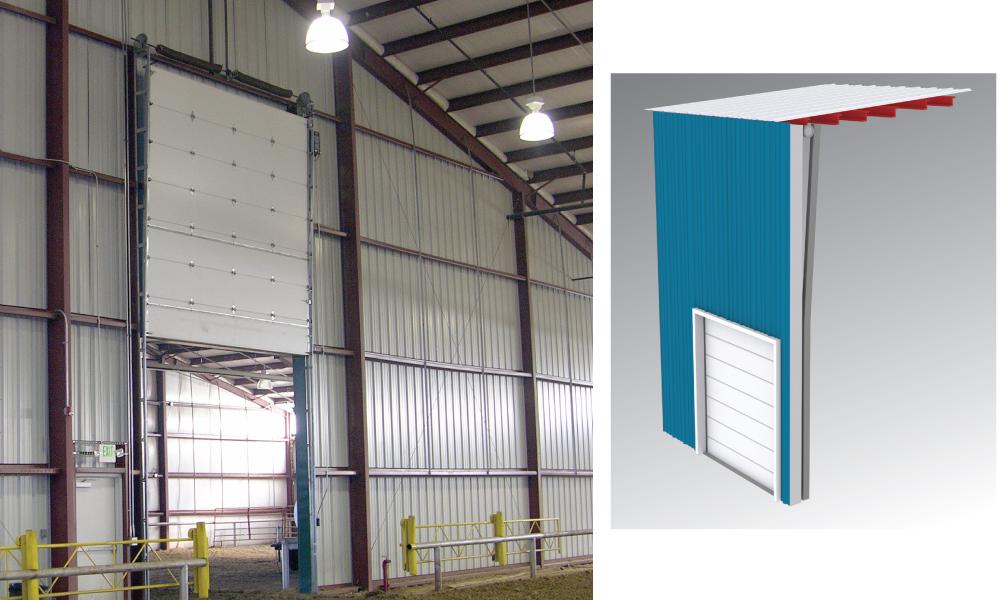 Overhead door lift types for overhead door tracks for Overhead doors for sheds