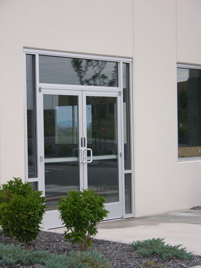 Commercial entry doors and glass storefront door options for Entry door glass options