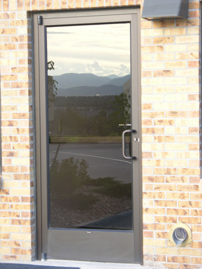 Commercial Entry Doors And Glass Storefront Door Options