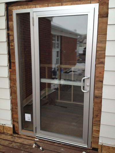 Glass Storefront Door. Glass Entrance Doors
