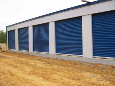 Commercial roll up doors garage doors self storage doors for Commercial garage plans