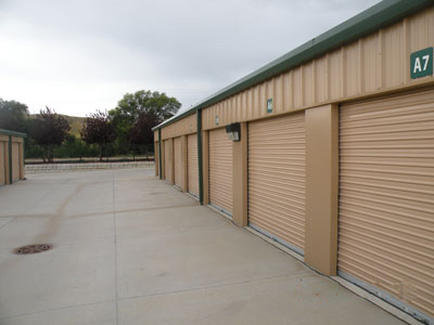 Steel Mini Storage Doors