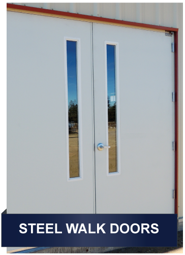 Commercial Entry Doors, Metal Building Doors and Walk Doors