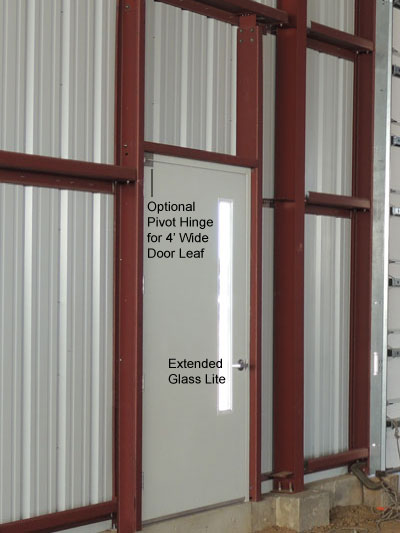 Preassembled Steel Walk Doors Man Doors And Entry Doors