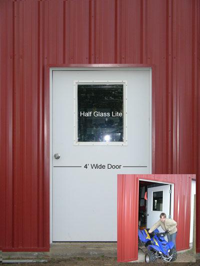 Preassembled Steel Walk Doors Man Doors And Entry Doors