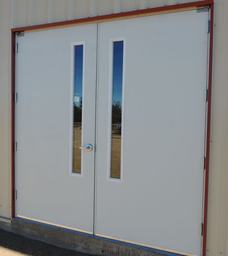 Preassembled Steel Walk Doors, Man Doors and Entry Doors